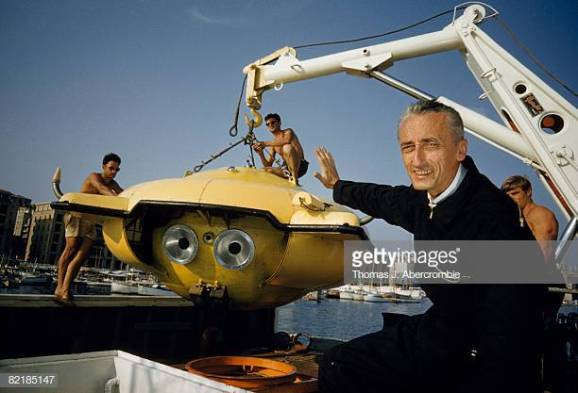 jacques-cousteau-gestures-at-his-latest-underwater-research-