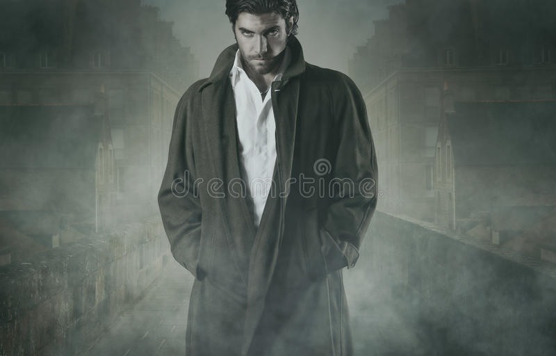 vampire-fog-waiting-walled-city-halloween-horror-concept-44691187